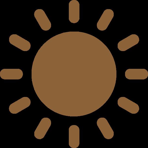 太阳阳光夏天星球矢量