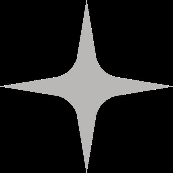 星星闪耀元素四角星装饰