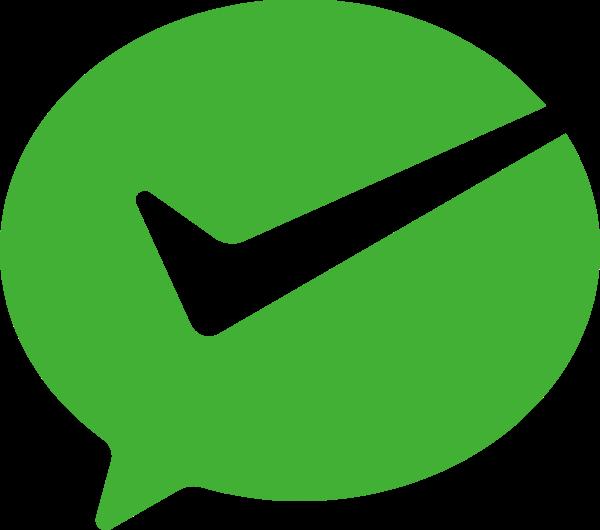 微信支付微信付款成功绿色图标