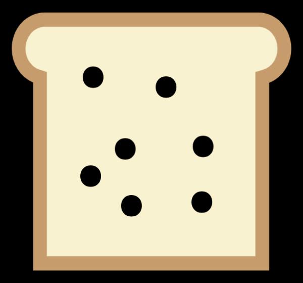面包面包片土司面包食物美食