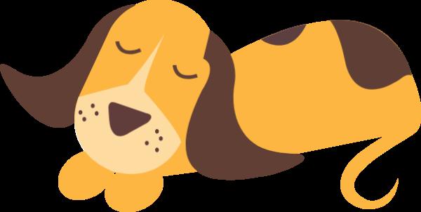 狗动物黄色可爱卡通