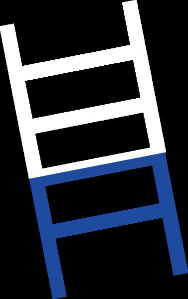 梯子阶梯拼接撞色扶梯