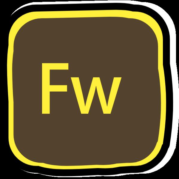 fw方框按钮icon图标
