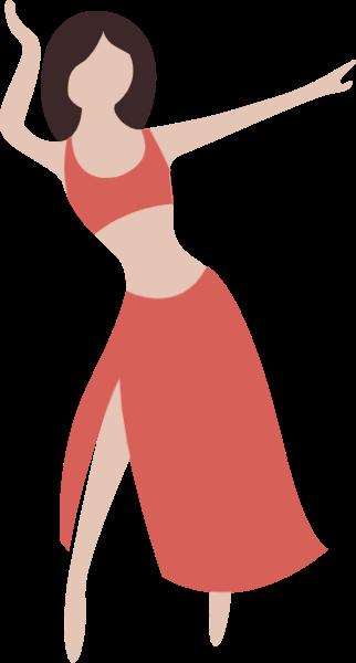 女人女性肚皮舞运动跳舞