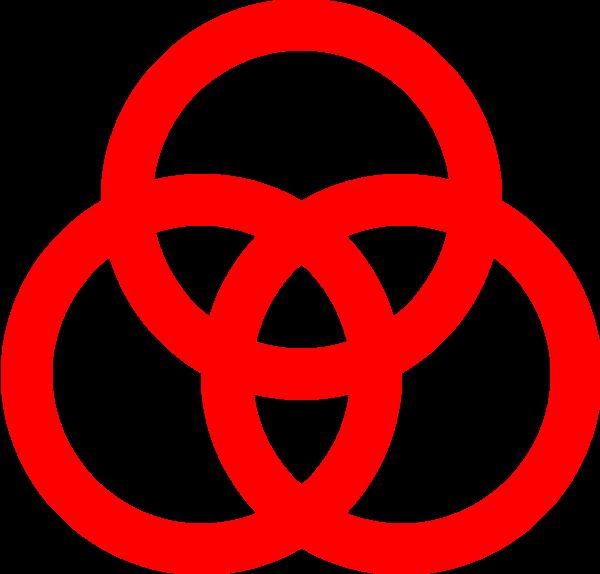 组合图形重叠交叉icon