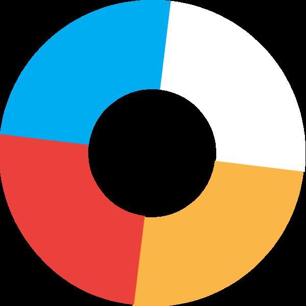 圆形圆几何形状色块几何体