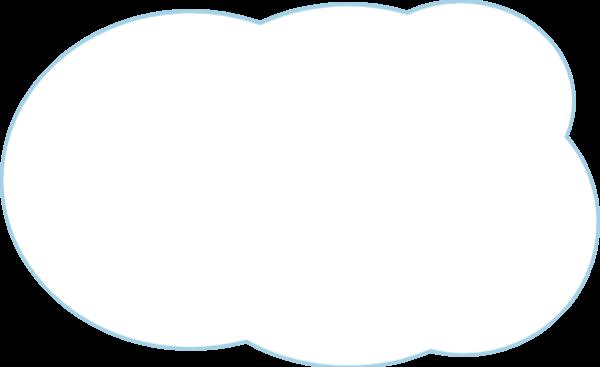 边框云朵手绘底纹装饰