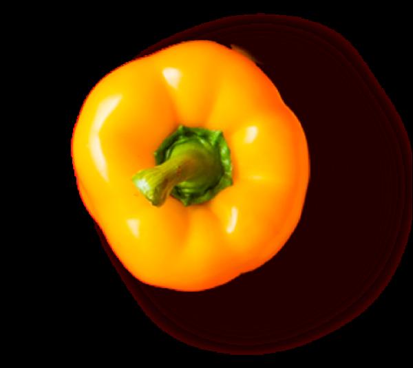 甜椒灯笼椒蔬菜实物抠图
