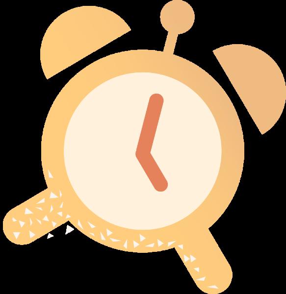 时钟钟表闹钟钟卡通