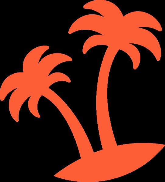 椰子树树树木风景旅行