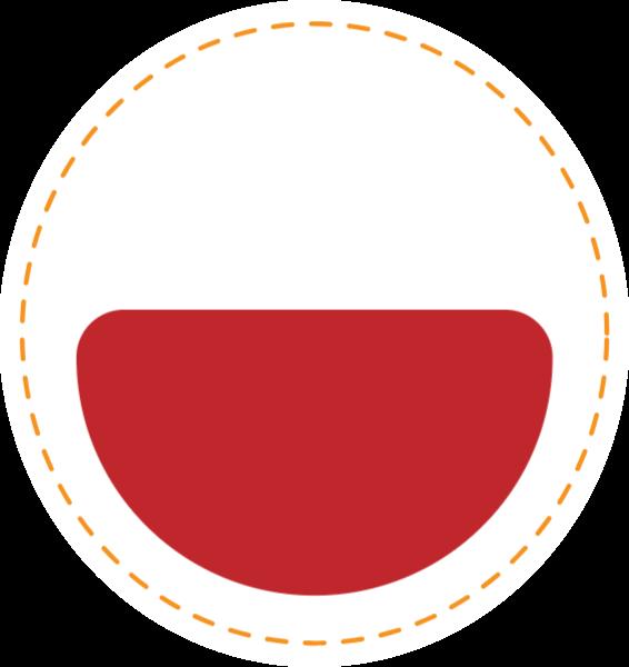 圆形圆半圆装饰排列