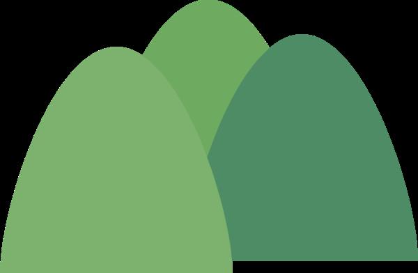 树林植物绿植山坡氧气