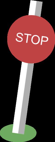 指示牌站牌装饰停stop