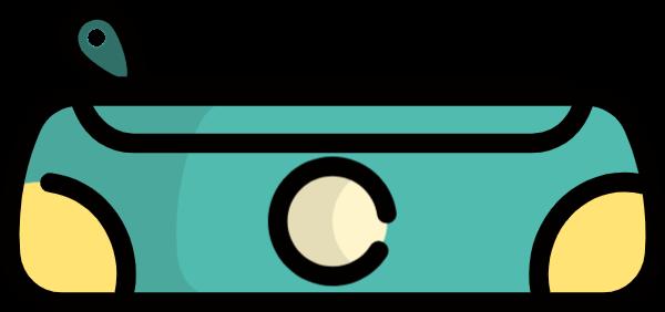 播音机收音机播放机可爱图标