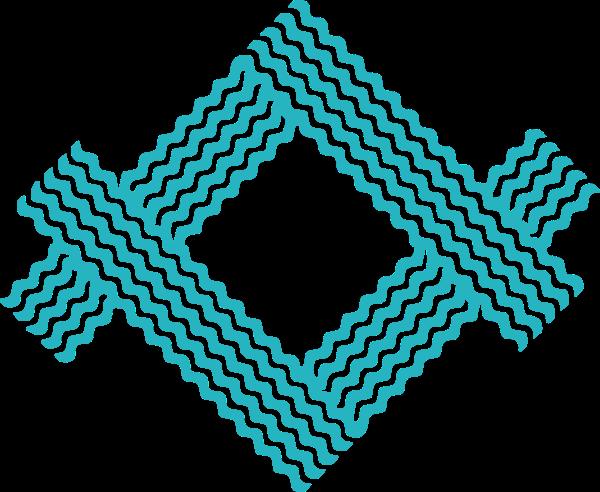 元素波浪线曲线装饰元素组合
