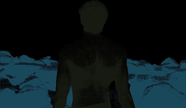 人物男人人肌肉背影