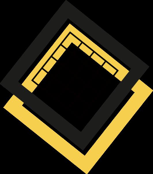 设计元素装饰矢量波浪形正方形几何体