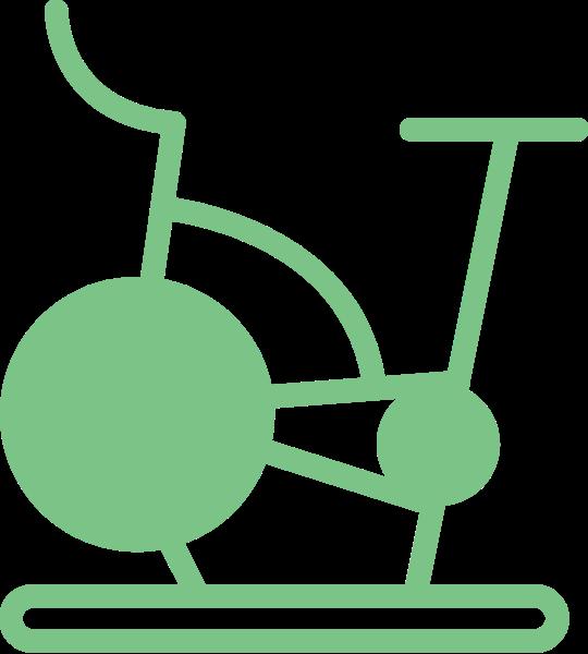 运动单车运动器材健身运动体育