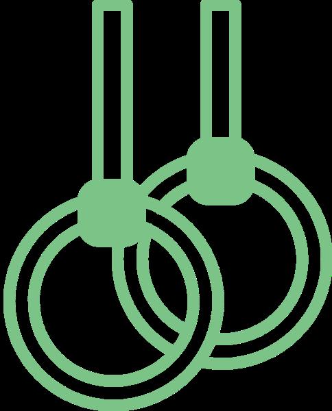 吊环运动器材环体操运动