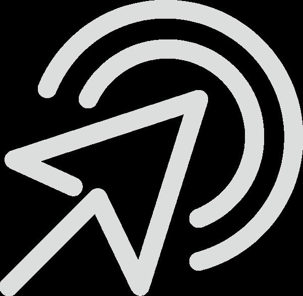 箭头光标指示点击icon