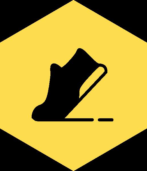 鞋图标标识标志运动鞋
