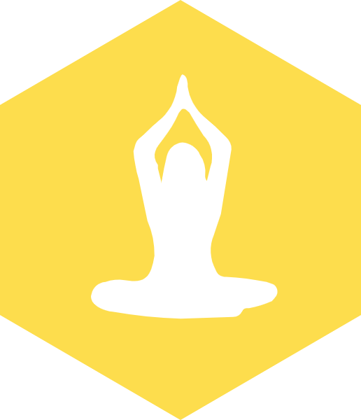 瑜伽图标标志标识锻炼