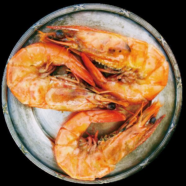 大虾海鲜基围虾河鲜美食