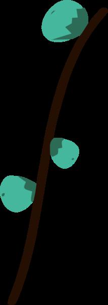 树枝叶子树叶绿色自然