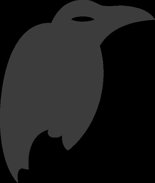 鹦鹉动物剪影卡通宠物