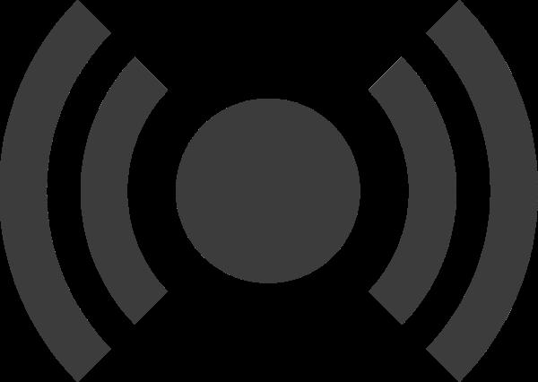 信号求救标示黑白simple