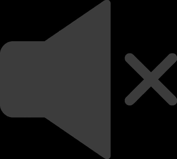 靜音喇叭靜音模式標示圖標
