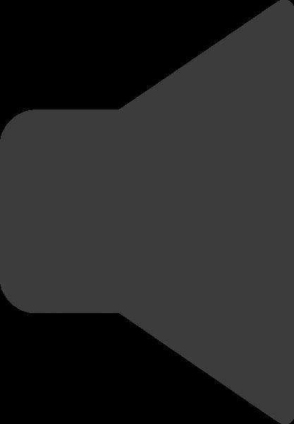 喇叭铃声标示图标黑白