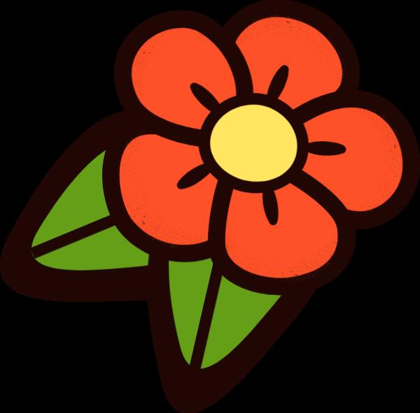 花朵仙人掌绿色植物草手