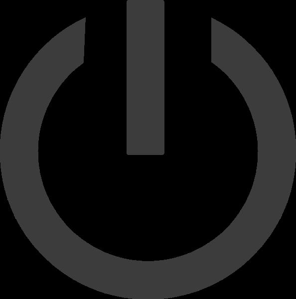 开关按钮标志符号办公