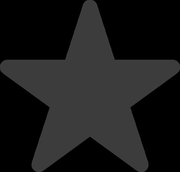 星星五角星标注收藏形状