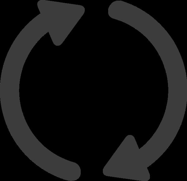 循环箭头标识常用图标