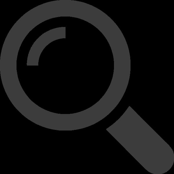 放大镜搜索图标基本标识