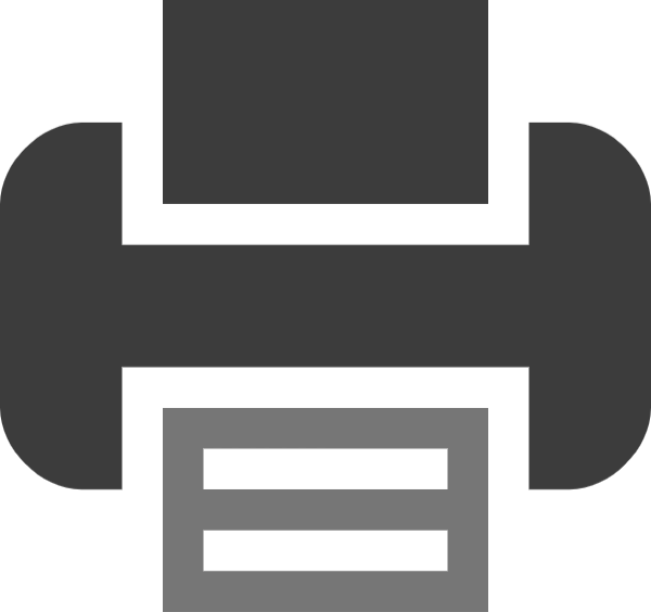 打印机传真机标识基本常用