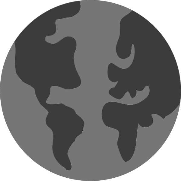 地球图标基本标识常用