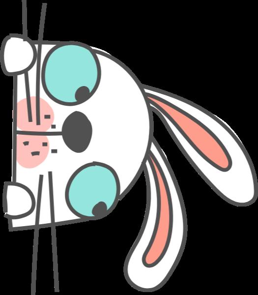 兔子可爱手绘简笔画动物
