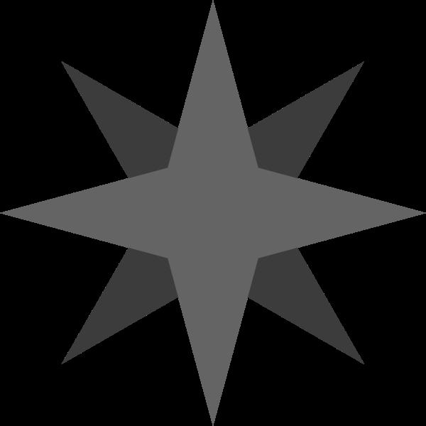 几何八角八角形常用灰色