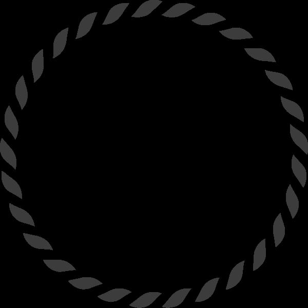 几何圆圈框圆框圆形