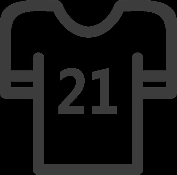 衣服t恤上衣图标运动员