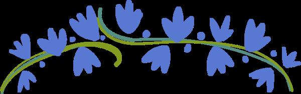 花花朵花环叶子树叶
