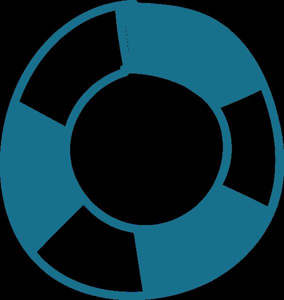 游泳圈救生圈圆形圆圆圈