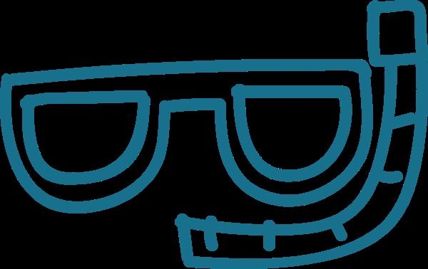 泳镜潜水潜水镜运动蓝色