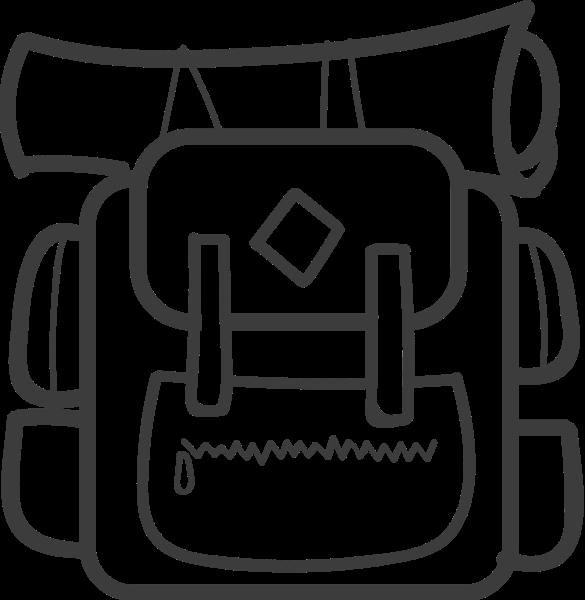背包旅行包行李書包地圖