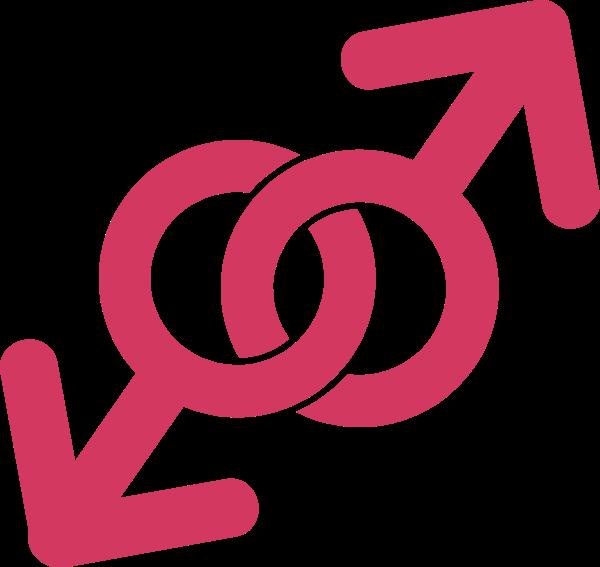 友情符号标志象征粉色