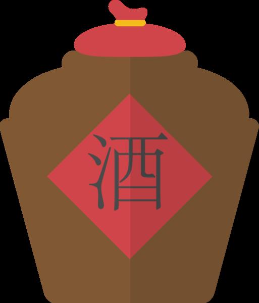 酒汉字文字酒水酒坛