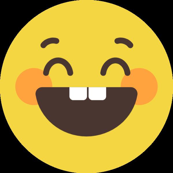 呲牙笑呲牙笑笑脸开心